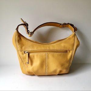 Tignanello leather handbag butter